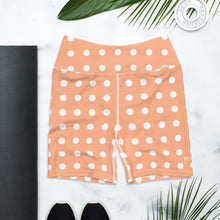 Load image into Gallery viewer, Shorts Mood - Polka Dots Peach & White
