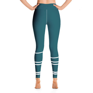 Yoga Mood - Teal Patterned