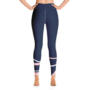 Yoga Mood - Navy Patterned
