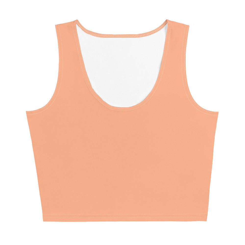 Crop Tee - Peachy