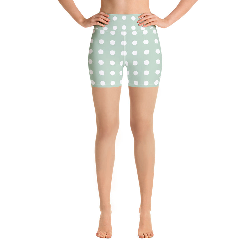 Shorts Mood - Polka Dot Mint Green