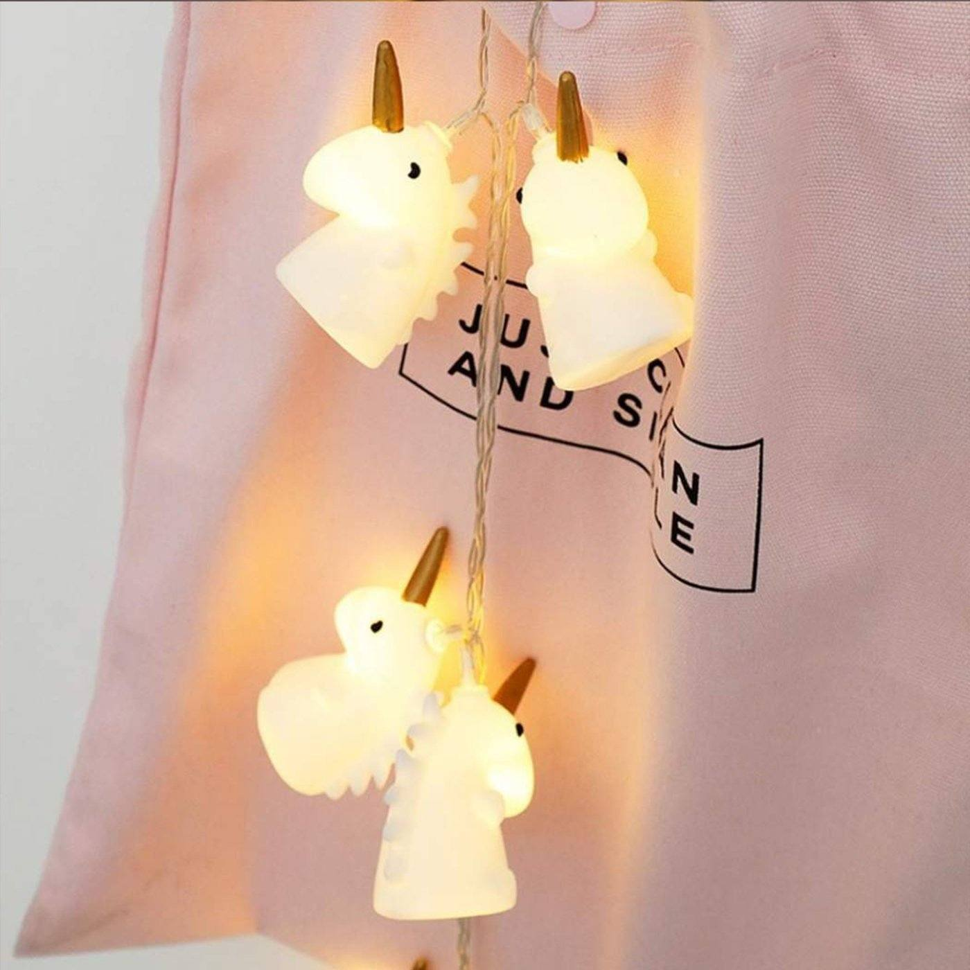 10pcs Unicorn LED String Light