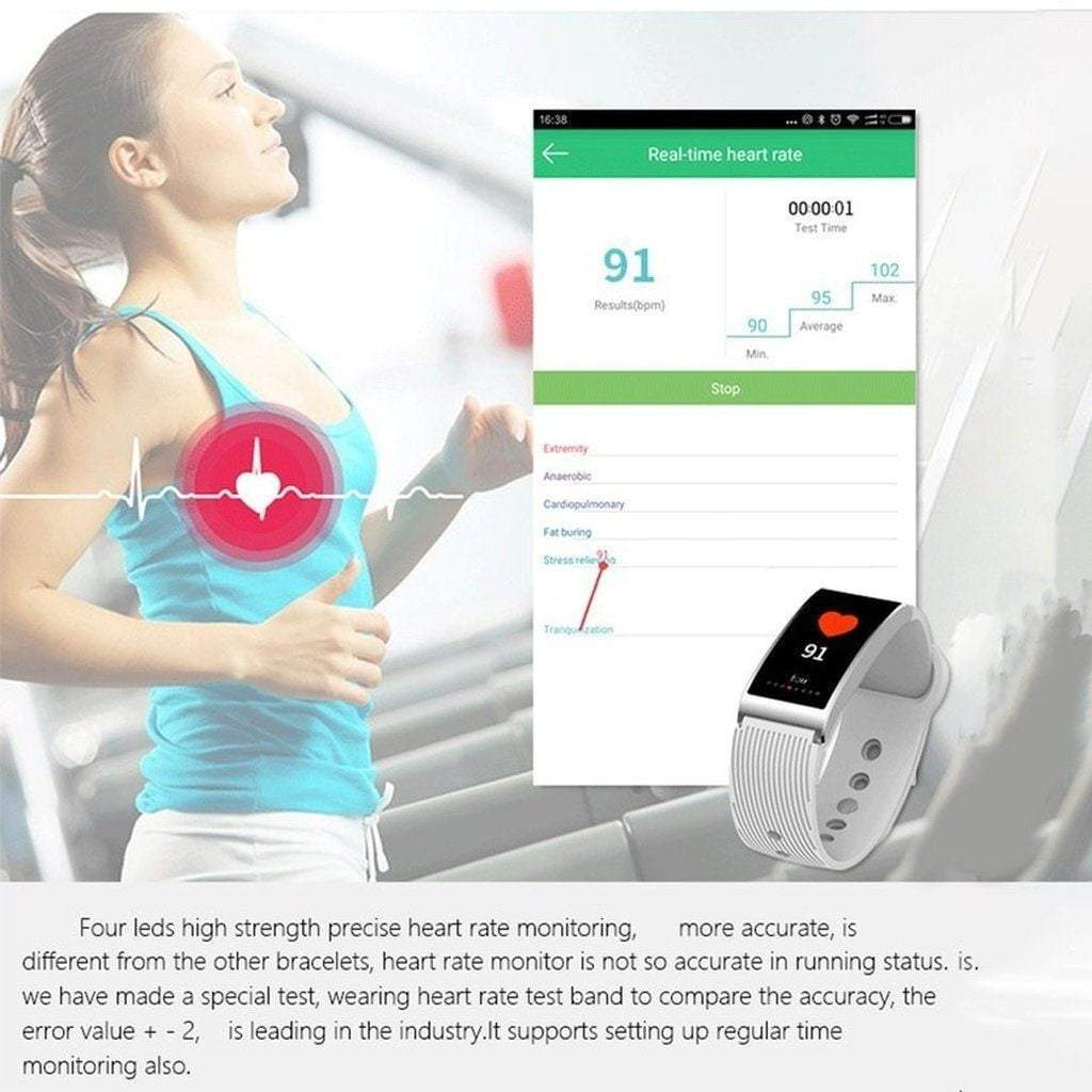 Microwear X3 Pedometer Sleep Monitor Smart Watch