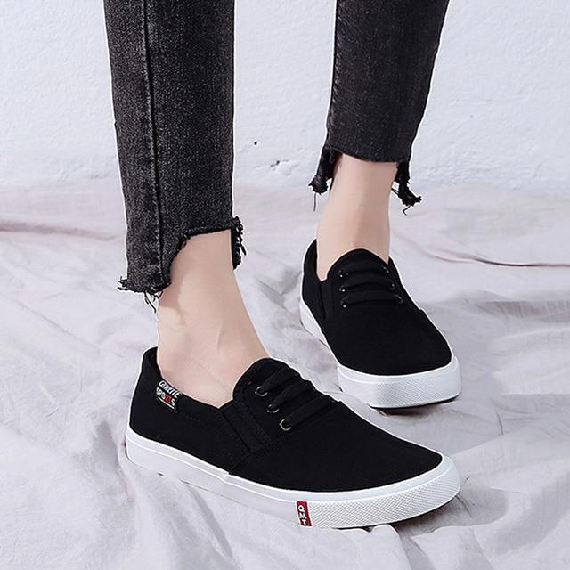 Fashion Women Shoes Canvas Shoes Women Casual Shoes