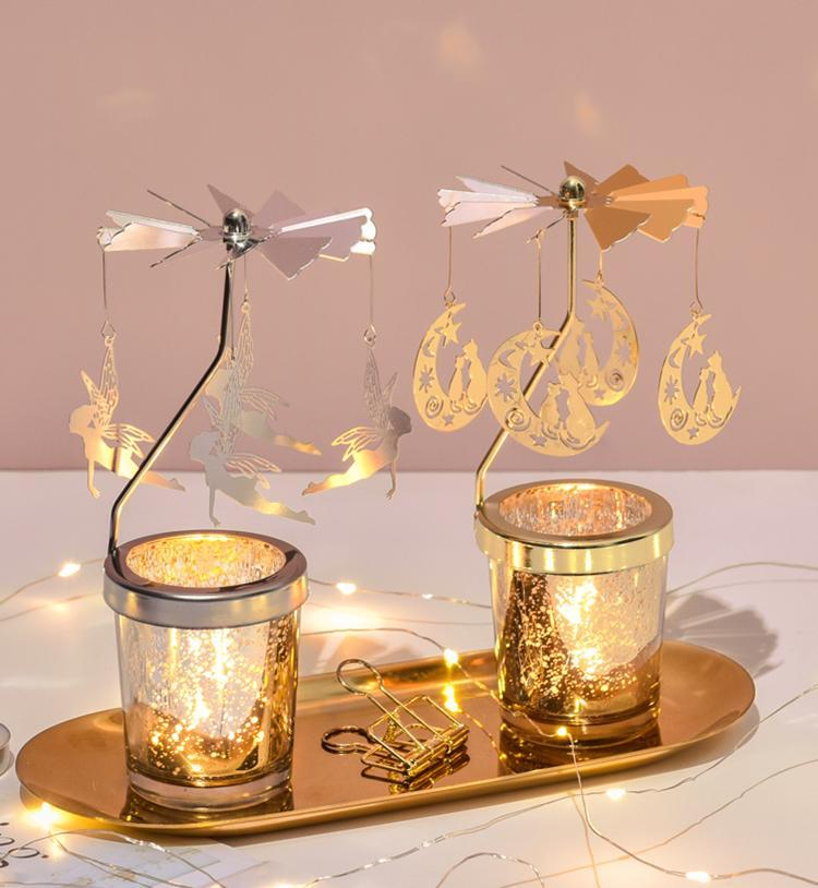 Spinning Candle Holders