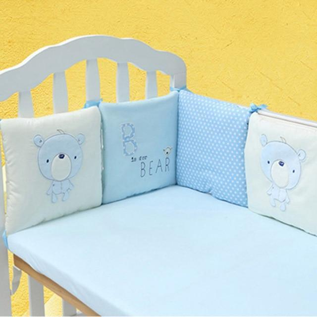 6Pcs Baby Bed Bumper Set