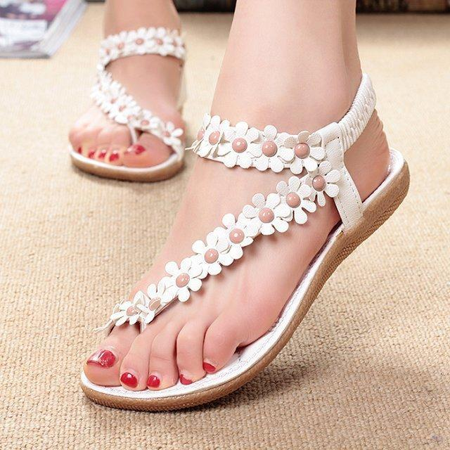 Women Sandals Bling Bowtie Fashion Peep Toe Jelly Shoes Sandal