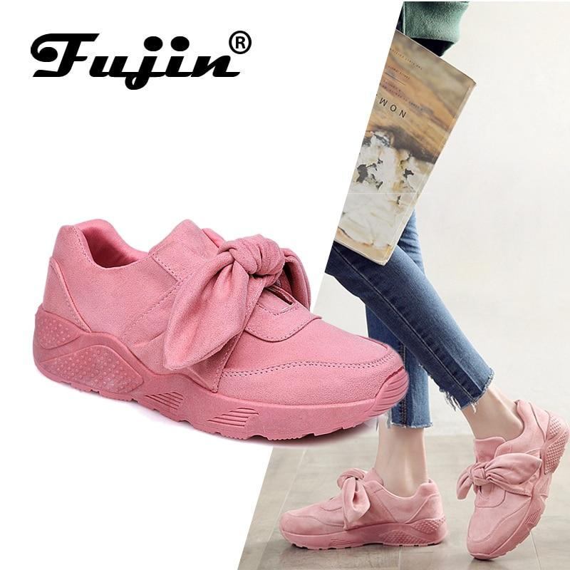 Woman Casual Shoes Bow Tie Ladies Flats For Women Silk Moccasins Sneakers