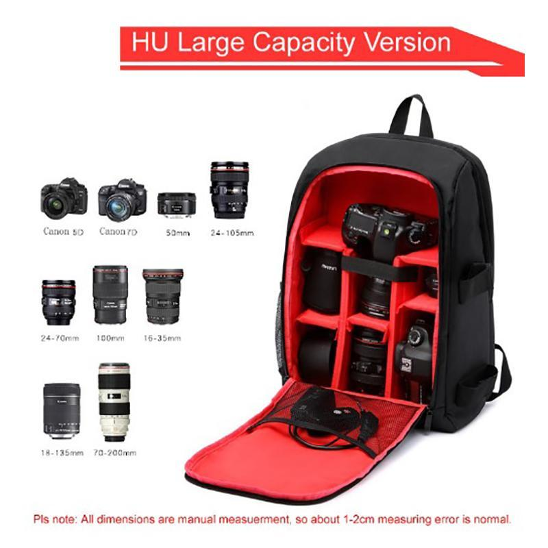Waterproof Functional Camera Bag