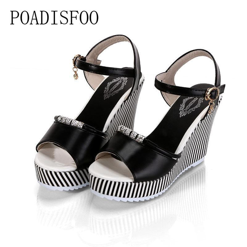 women's platform wedges Waterproof Sandals