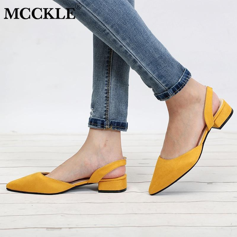 Women Shoes Slingback Sandals For Female
