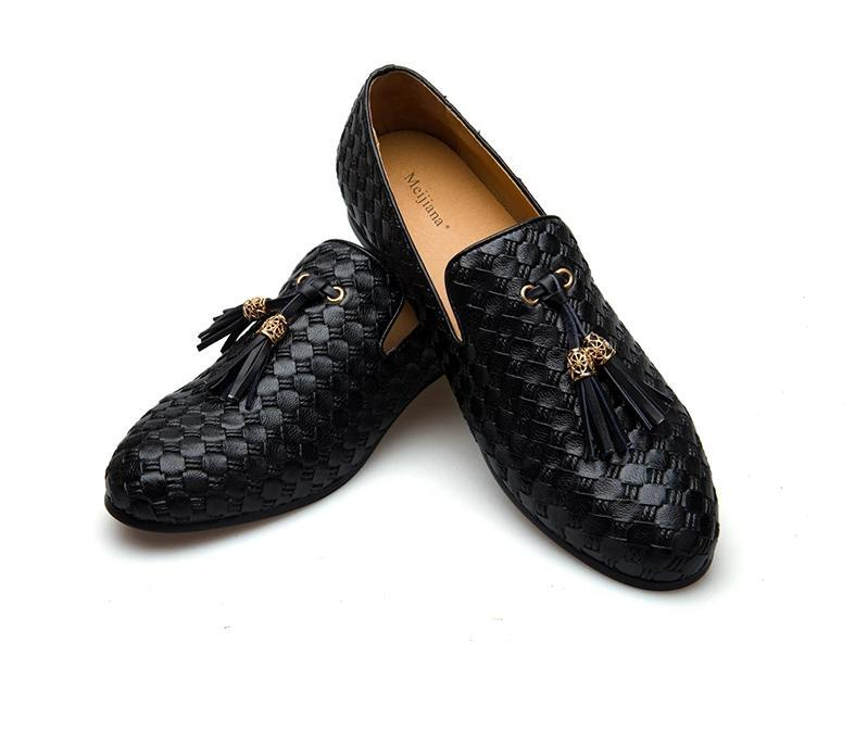 BV breathable comfortable  men loafers luxury  men's flats men casual shoes