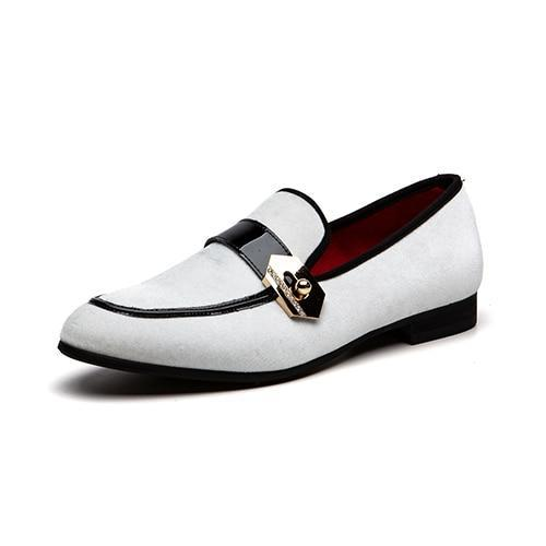 Men Loafers High Quality Genuine Leather Shoes
