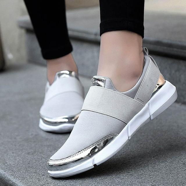 Mesh Breathable Women Shoes Loafers Women Casual Shoes Ladies Walking Shoes