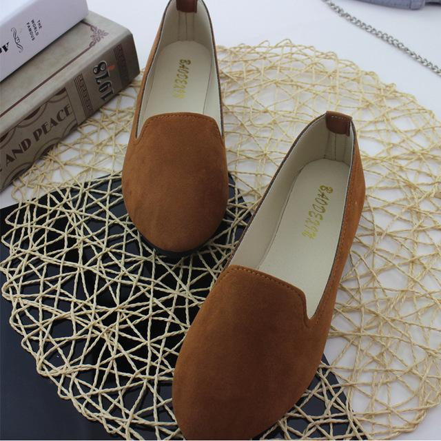 Women Flats Loafers Shoes Spring Ballet Flats Shoes