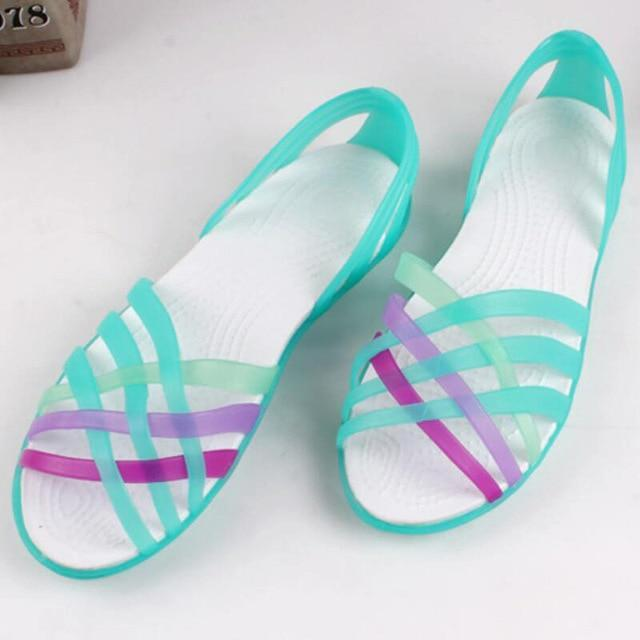 Jelly Beach Shoes Flat Sandals