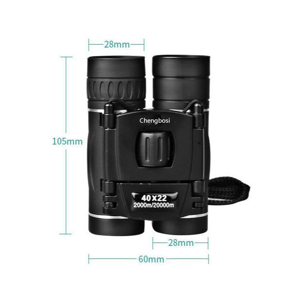 Military HD 40x22 Binoculars Professional Hunting Telescope