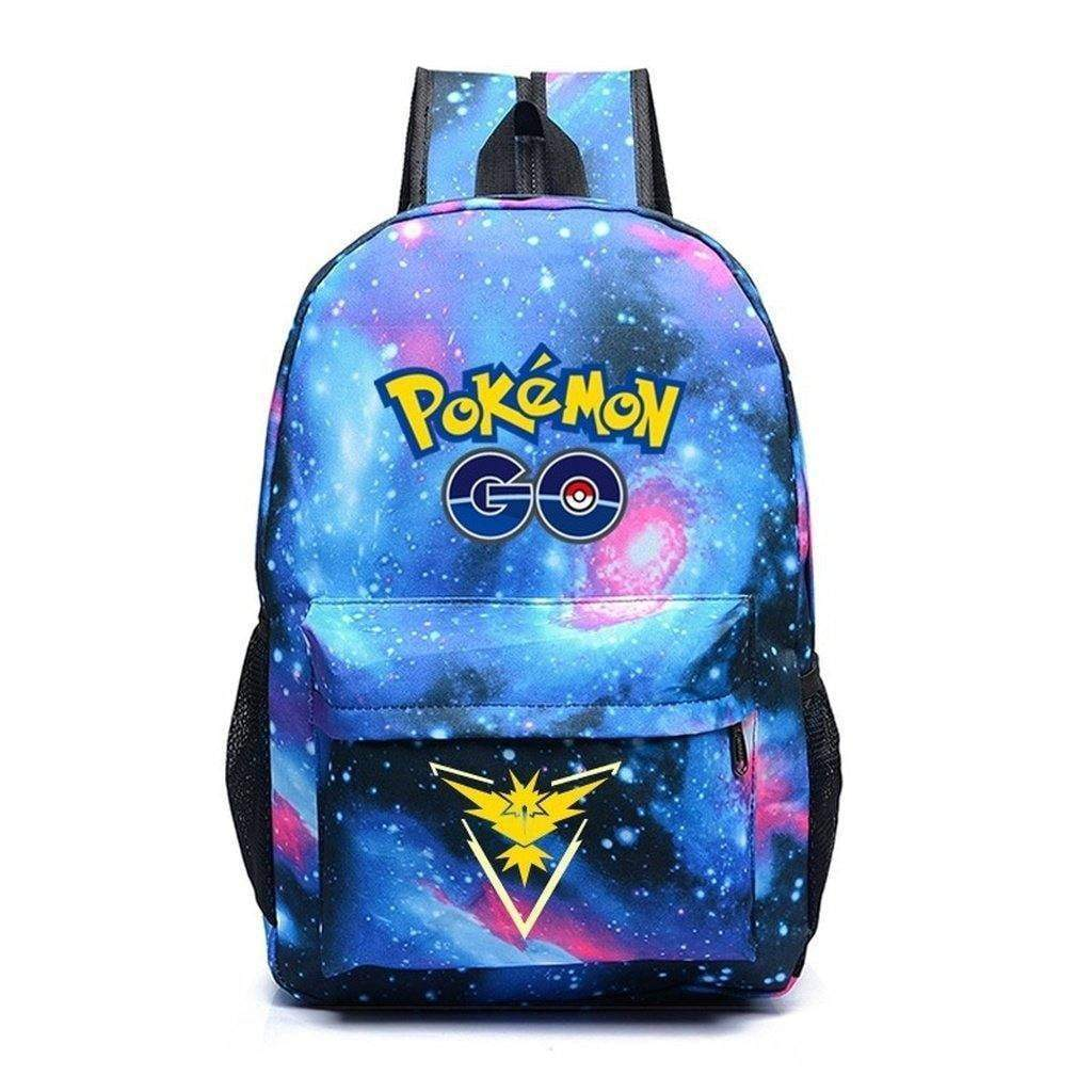 Galaxy Luminous Printing Pokemon Backpack