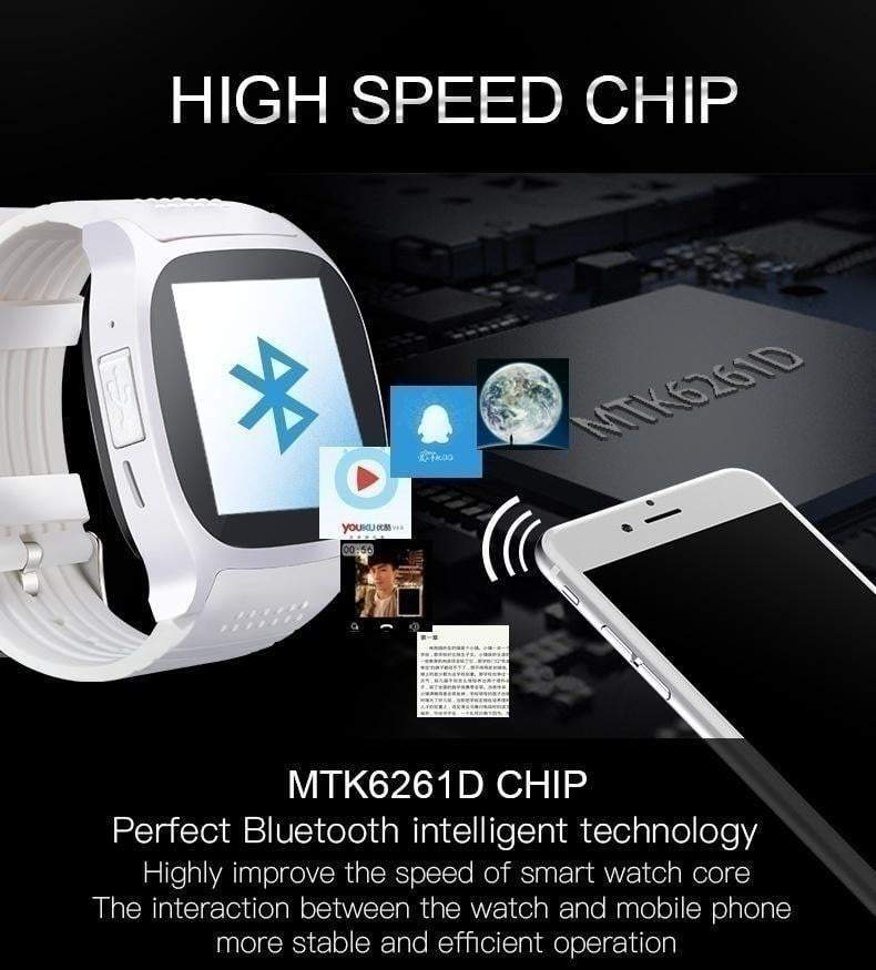 Card Phone Watch Movement Step Counter Smart Watch