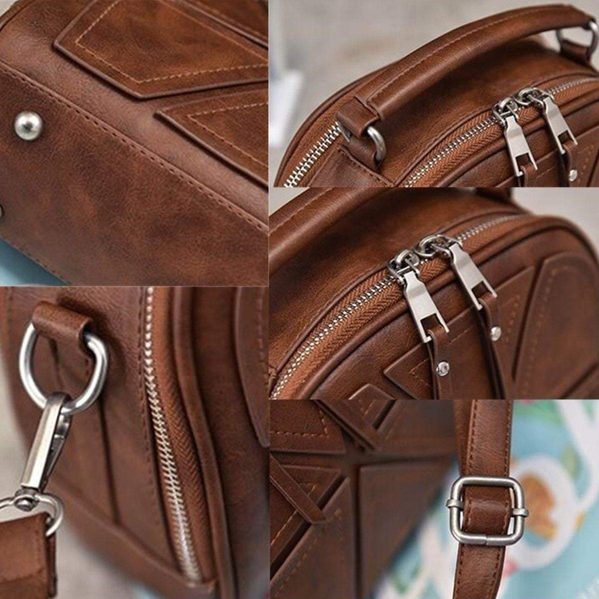 Women Fashion Leather Tote Messenger Bag