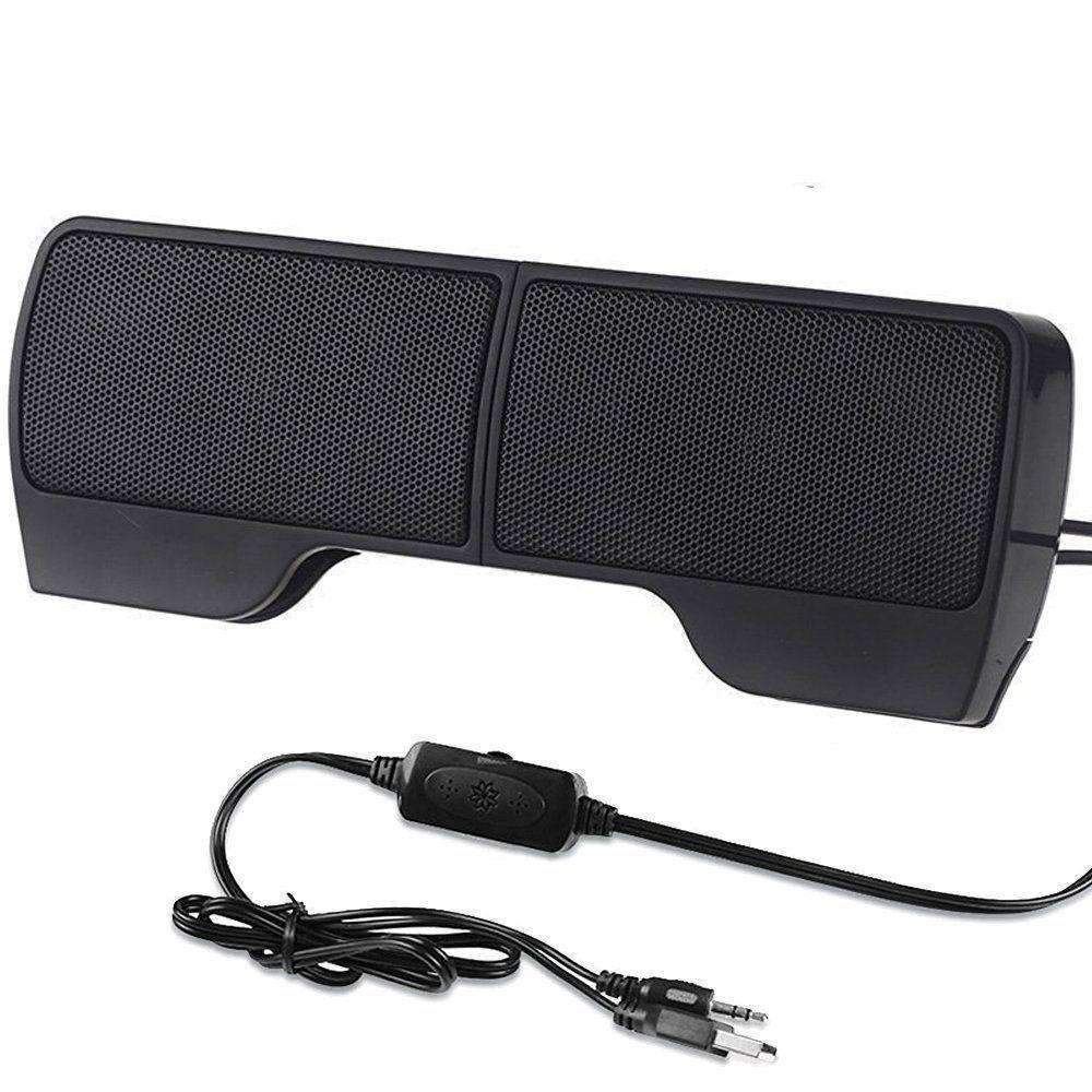 Clip-On Laptop Speakers - Enjoy Amazing Sound Quality At The Comfort Of Your Own Home!