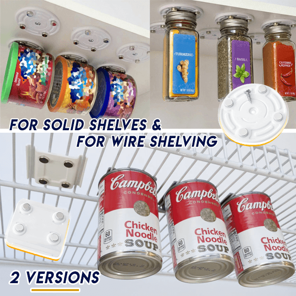 Magnetic Canned Food Hanger (2 pcs)