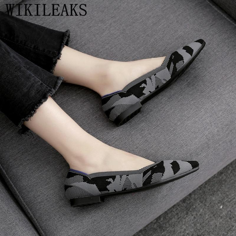 pointed toe women shoes luxury brand flat shoes