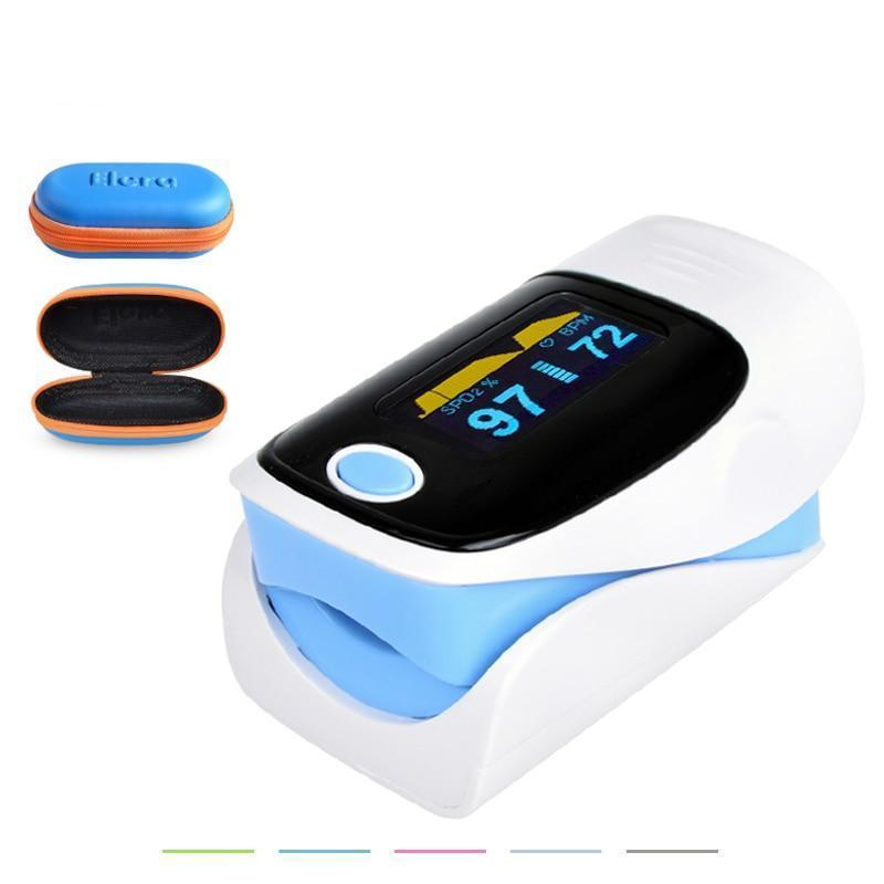 Digital finger oximeter