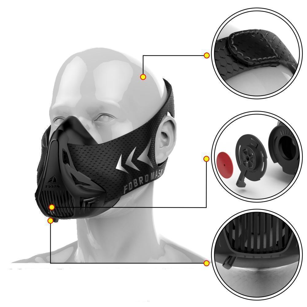 Sports Training Fitness Mask For Elevation Workout