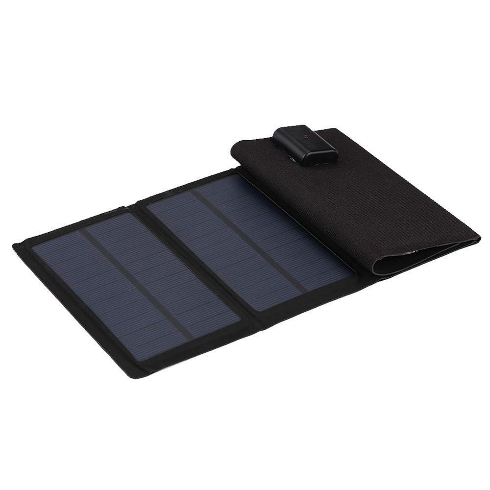 Portable Folding Solar Cells 7W Generator phone Charger USB Output