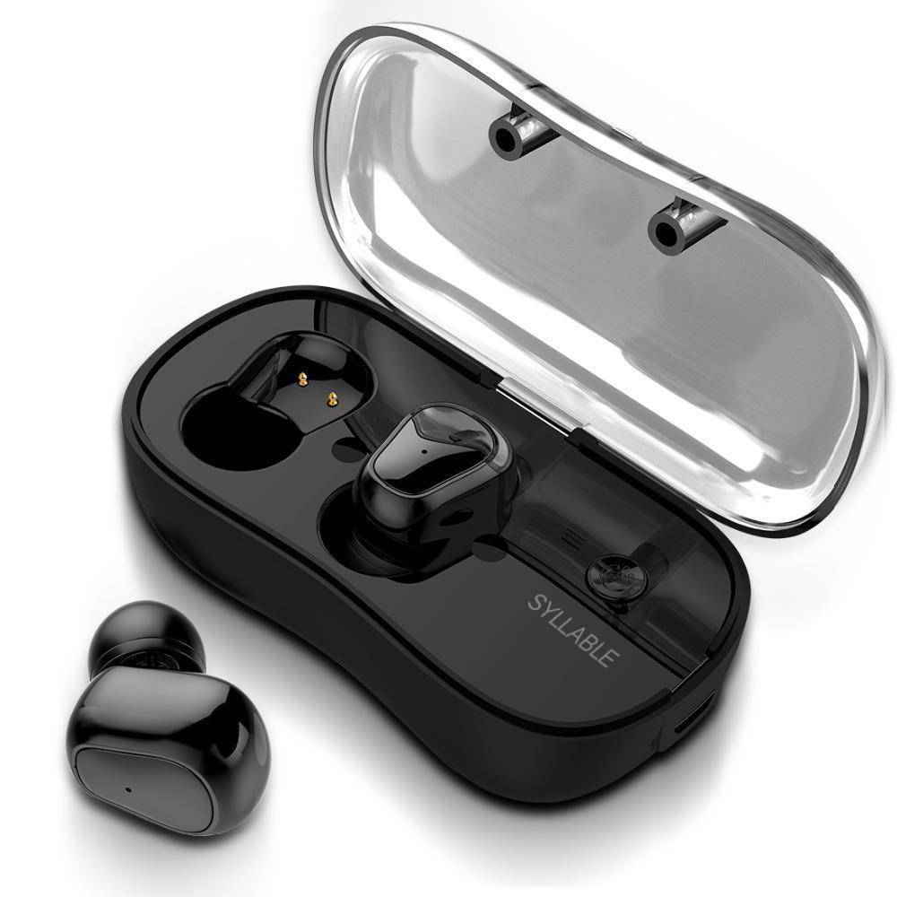 Waterproof Bluetooth Wireless Stereo Earbuds With Charging Case