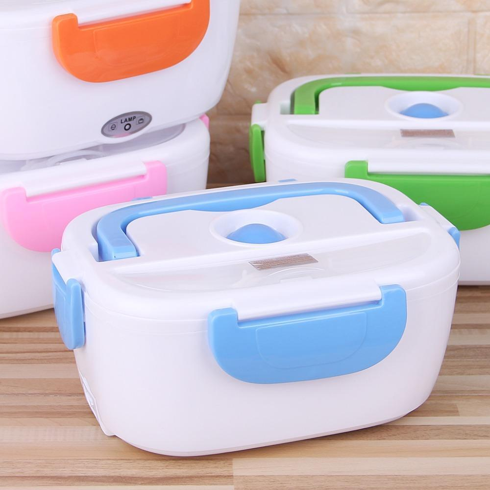 Electric Heated Lunch Box Portable Food Warmer Meal Container
