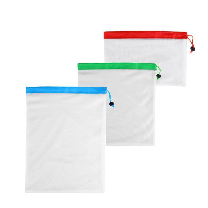 Waste Free Reusable Produce Bags 12PCS Grocery Washable Eco Friendly
