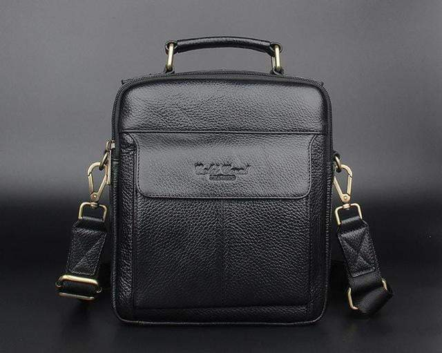2018 Men's Genuine Leather Messenger Handbags