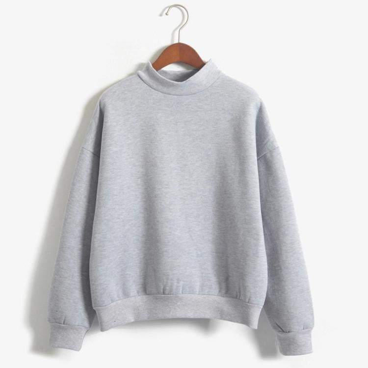 Women Sweatshirts Plus Size Plus Velvet Thicken Pullover Casual