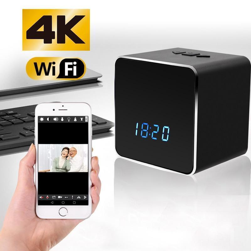 Bluetooth Speaker with 4K WIFI HD Video Camera