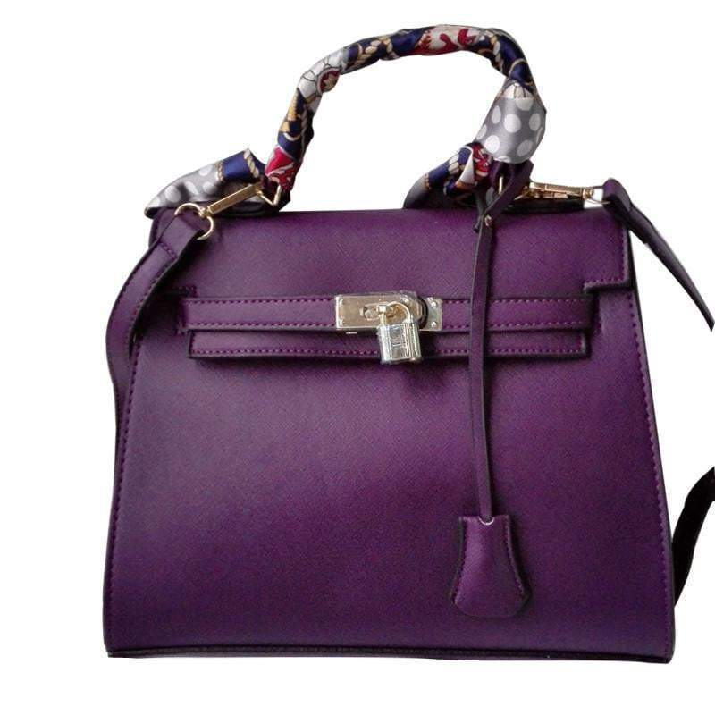 Women Messenger Bags Ladies Tote crossbody bag with scarf lock designer bolsas