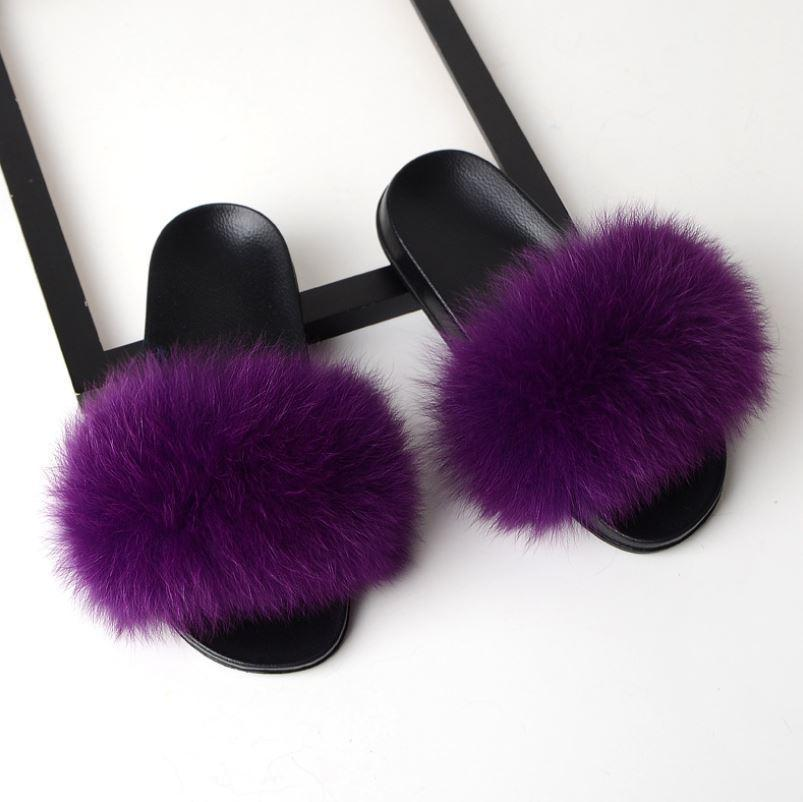 Women's Furry Slippers