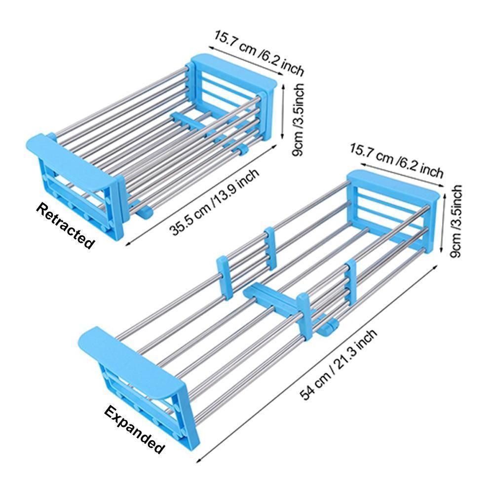 Retractable Drainer Rack