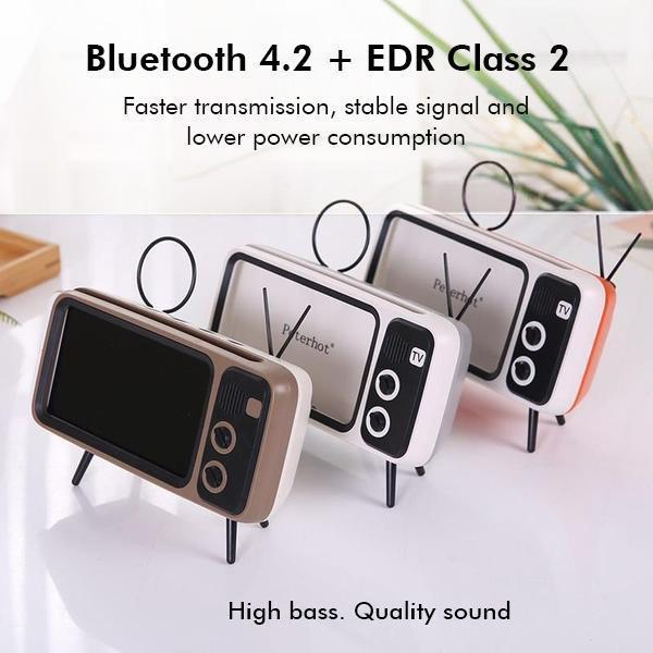 Retro Style Wireless Speaker