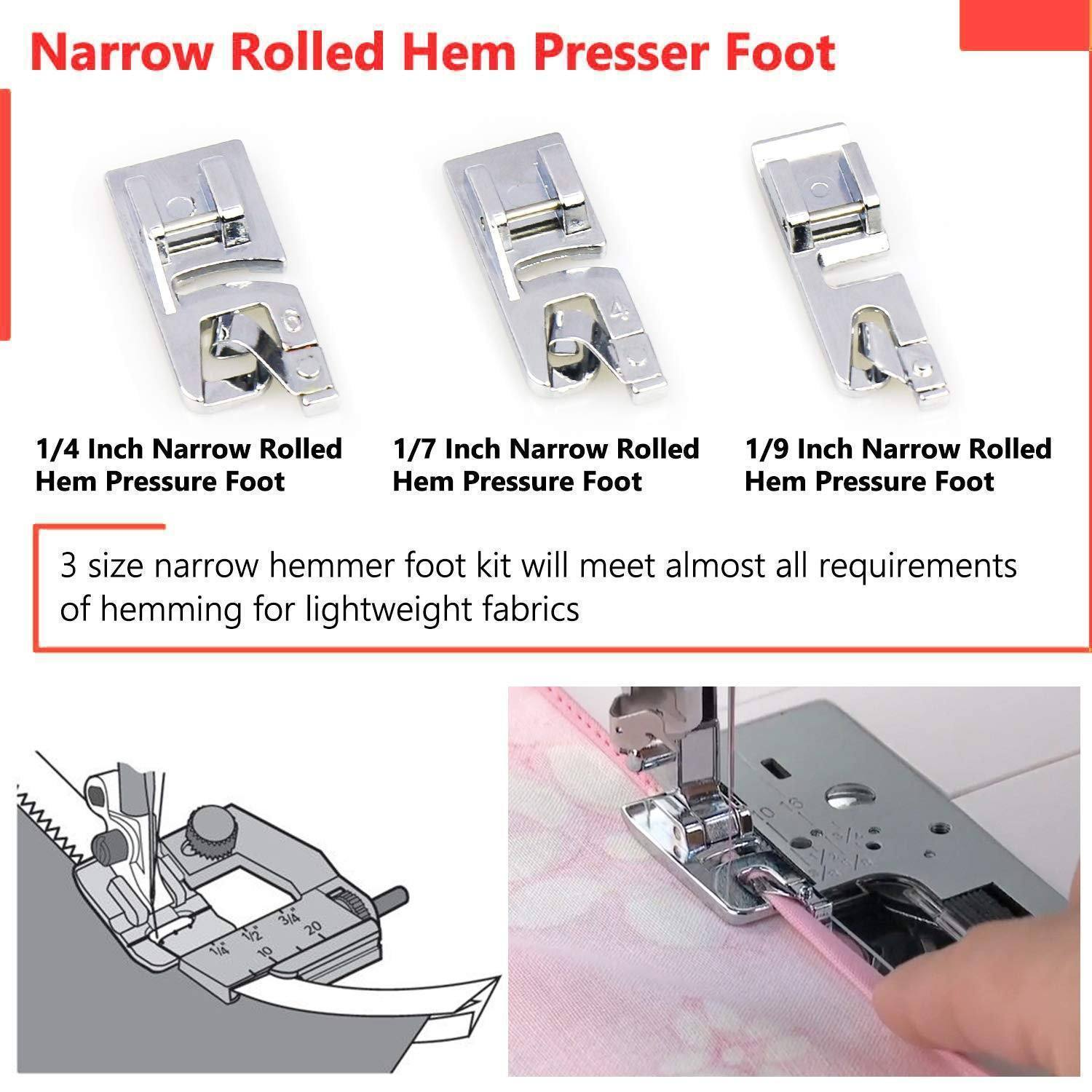 Rolled Hem Sewing Foot