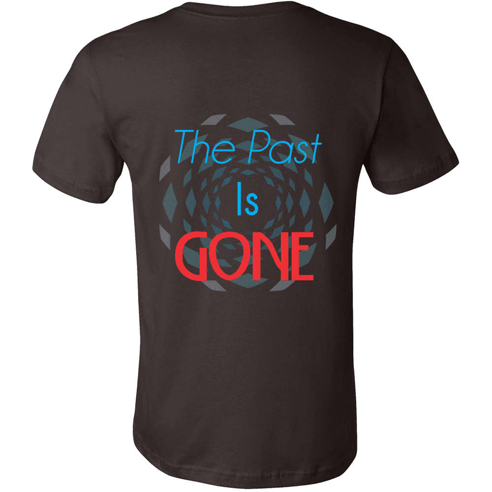 Canvas Men's Shirts The Past Is Gone, Your Best Is Yet To Come!!