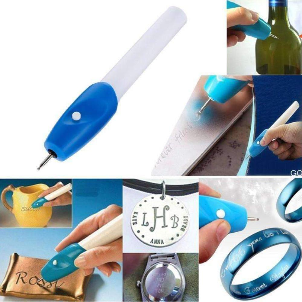 Magic Pen ENGRAVE IT - Train Your Hand Creativity For Your Beloved Items