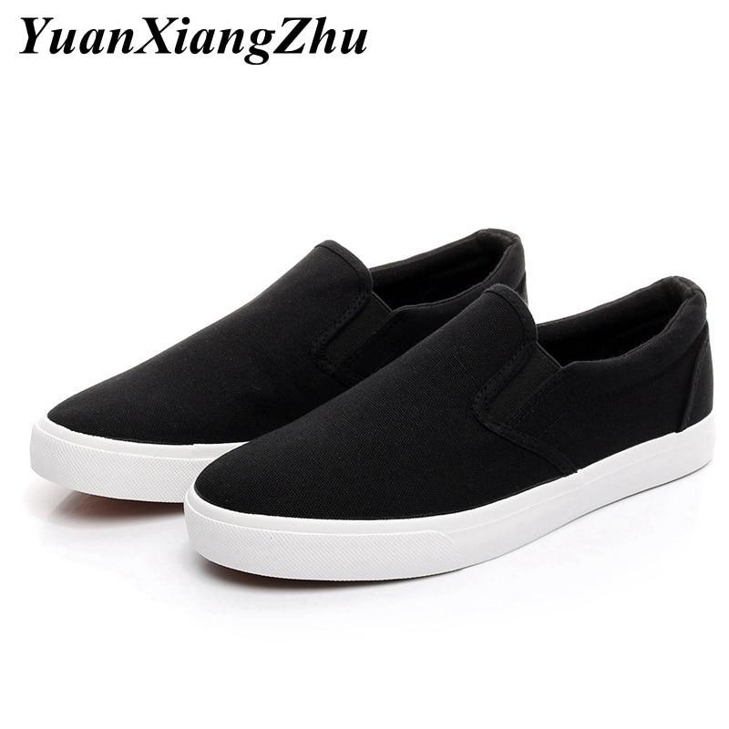 women flats shoes slip-on loafers women canvas shoes casual ladies shoes