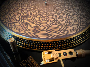 Watch the Ancient Memory Edition slipmats in motion