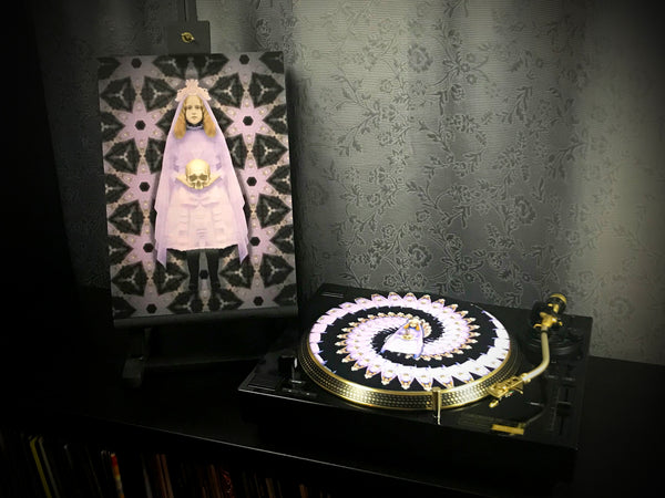 Beatrice - Print and Zoetrope Slipmat by Vincent Hocquet - Combi Package