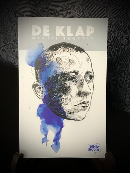DE KLAP combi package: book-DE KLAP, print-GUEULES CASSEES, zoetropic turntable slipmat