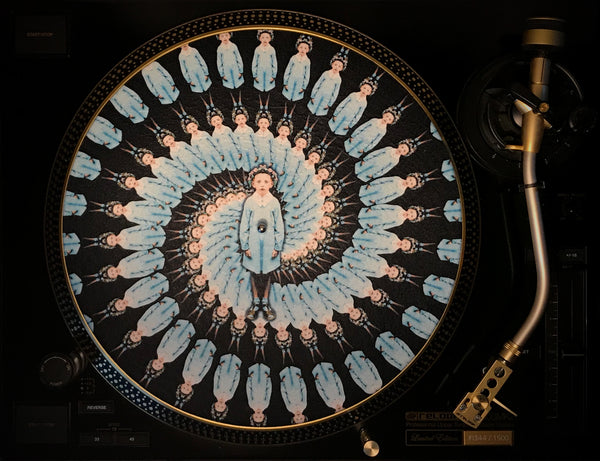 Gilles - Print and Zoetrope Slipmat by Vincent Hocquet - Combi Package