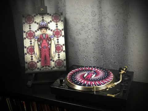Marcella - Print and Zoetrope Slipmat by Vincent Hocquet - Combi Package