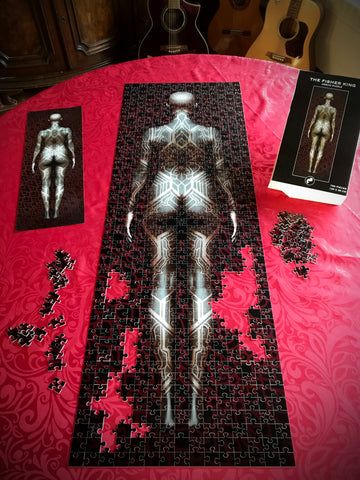 The Fisher King-Jigsaw Puzzle-bodysuit tattoo